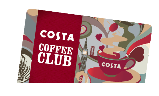 Costa Coffee Club karta